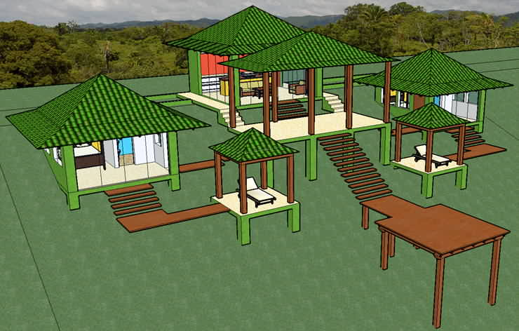 Tropical Eco House Design House Design
